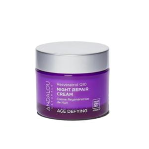 Andalou naturals 3合1有機雪糕彈滑晚霜Age Defying Resveratrol Q10 Night Repair Cream
